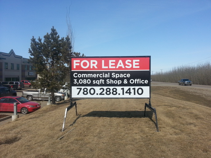 Commercial Real Estate Signs Edmonton