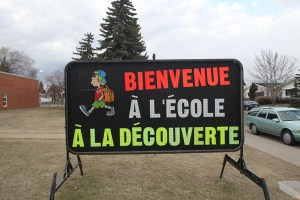 Edmonton School Portable Signs