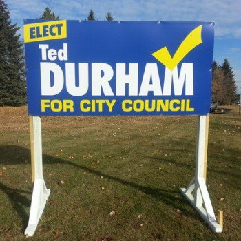 St Albert Election Signs